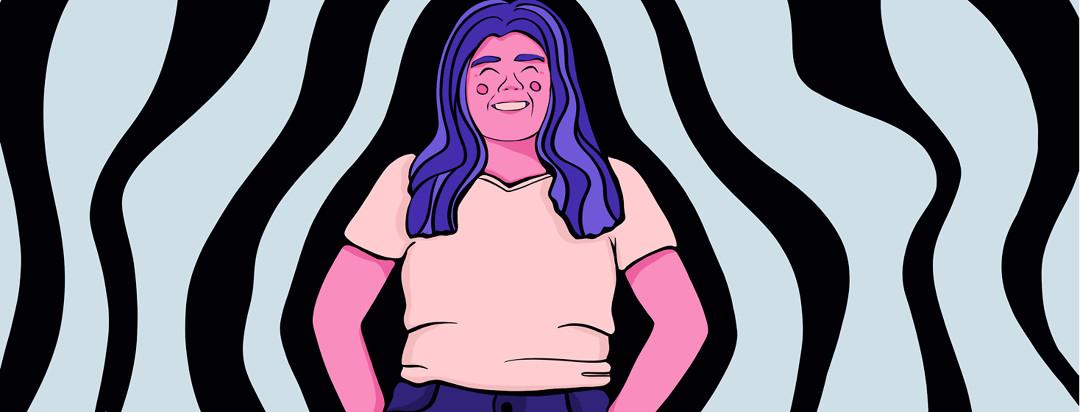 A stylized portrait of tswdaisy.