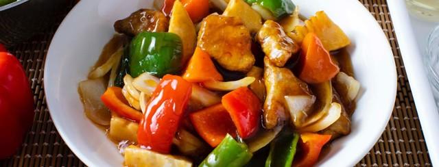 Easy skin healthy stir fry